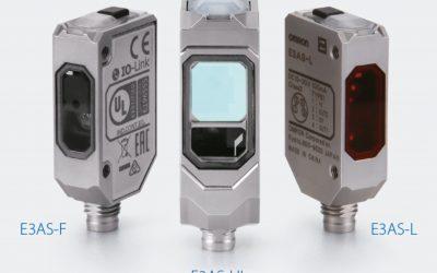 Promoción de nueva serie de fotocélulas E3AS de Omron